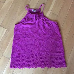 Lucky Brand Pink Top